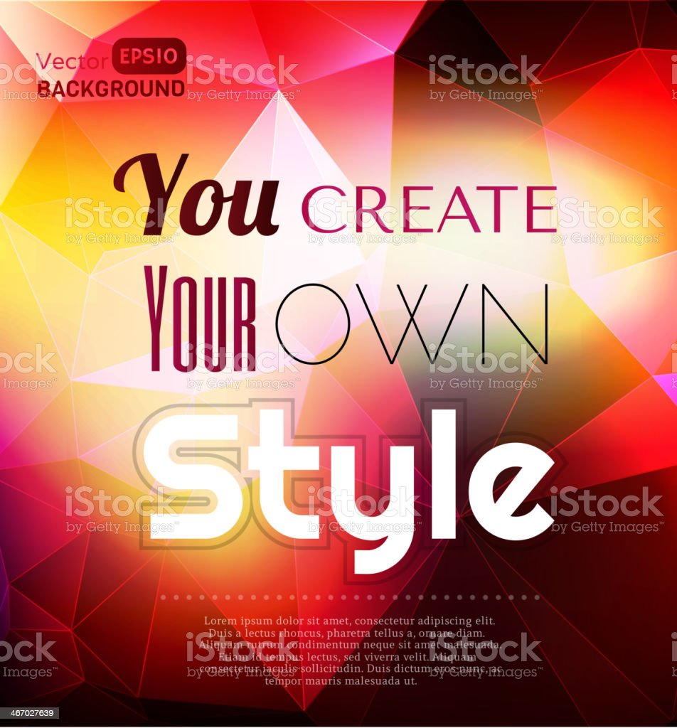 Your style royalty-free your style stock vector art & more images of abstract