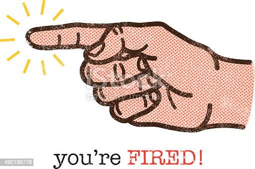 istock You're fired illustration 492195776
