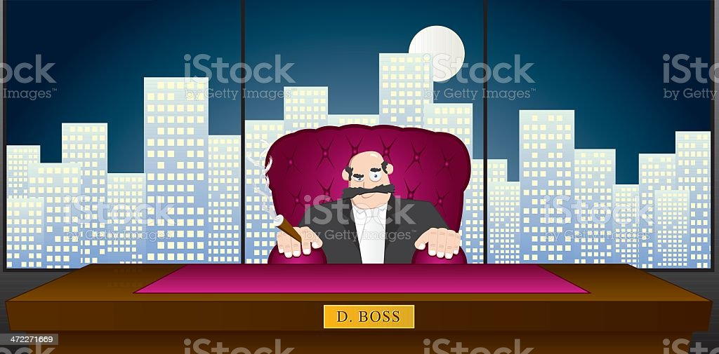 You're Fired!! royalty-free stock vector art