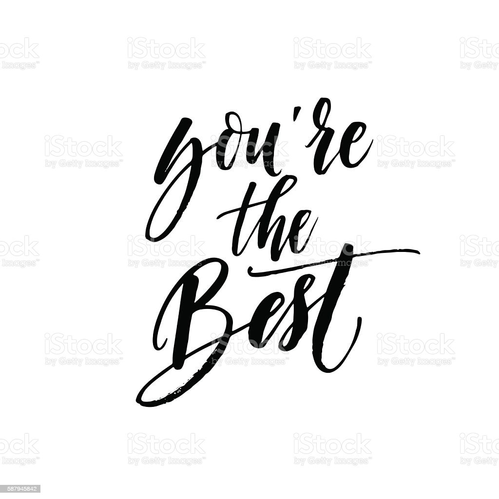 Youre The Best Card Stock Vector Art & More Images of Abstract ...