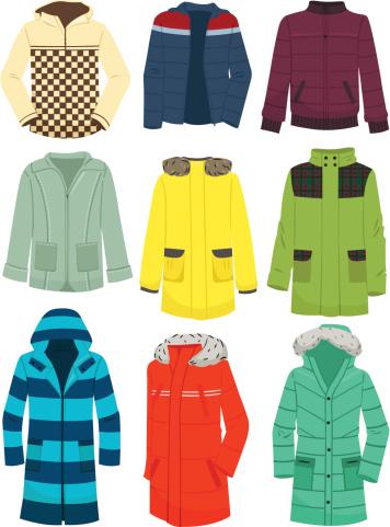 Youth men's jackets