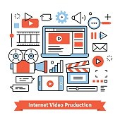 Youtuber video production studio