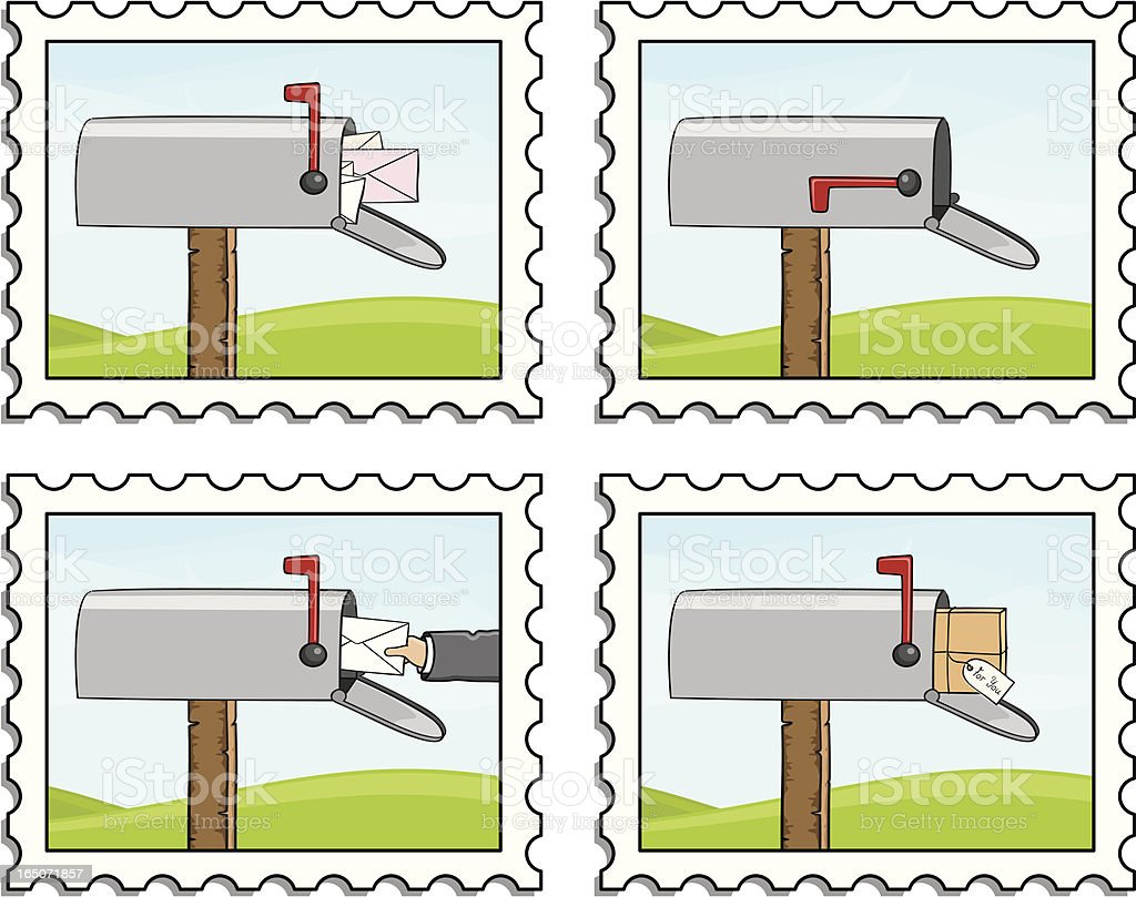 You've Got Mail - incl. jpeg royalty-free youve got mail incl jpeg stock vector art & more images of brown paper