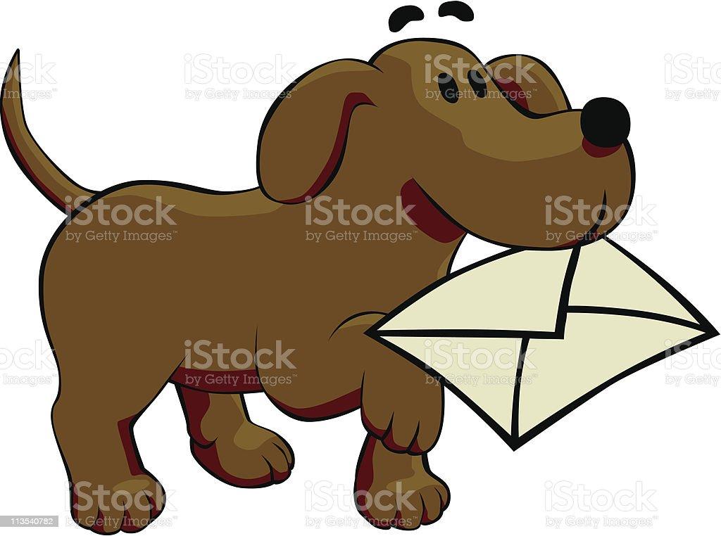You've got mail vector art illustration