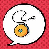 yo-yo doodle, speech bubble