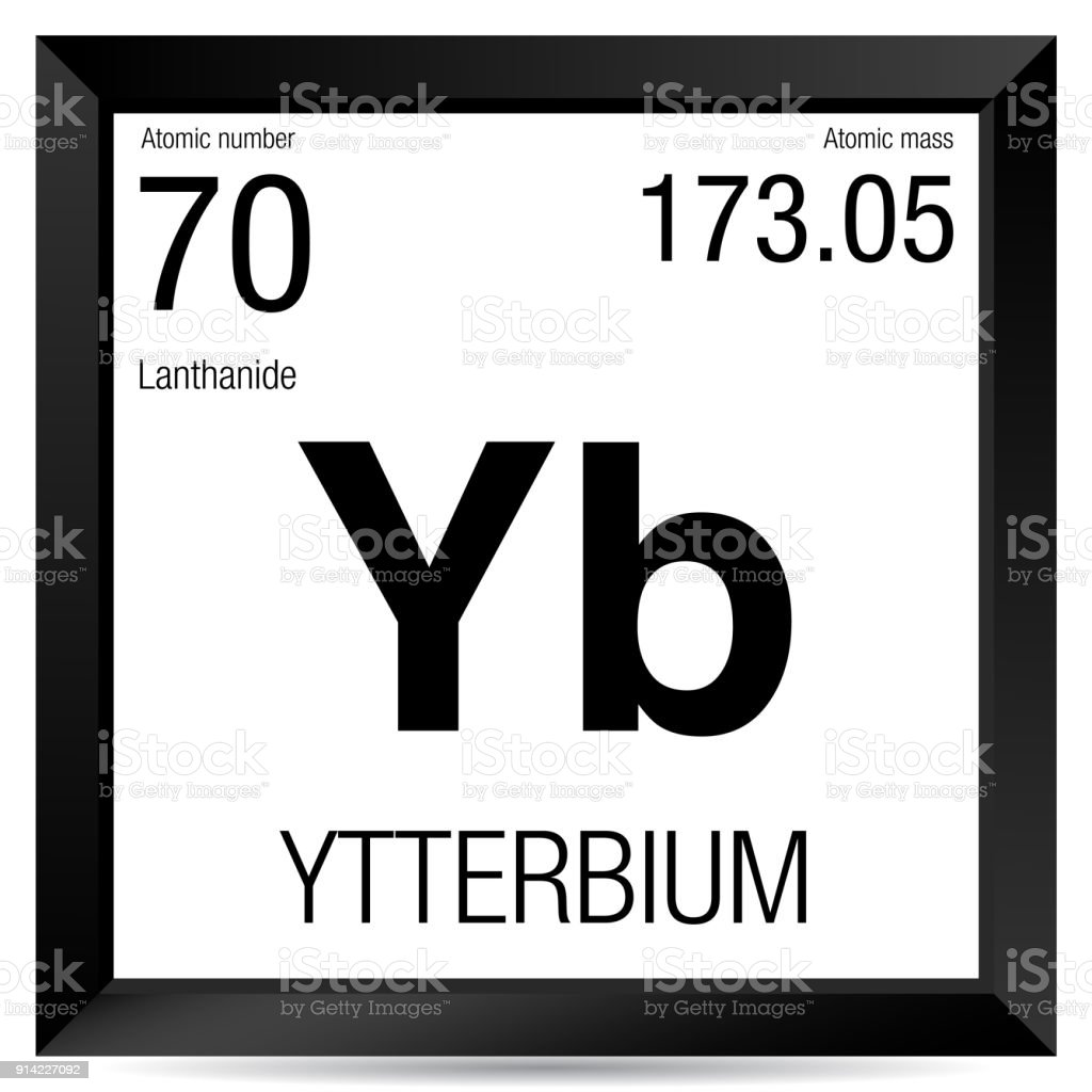 Ytterbium symbol element number 70 of the periodic table of the ytterbium symbol element number 70 of the periodic table of the elements chemistry royalty urtaz Images