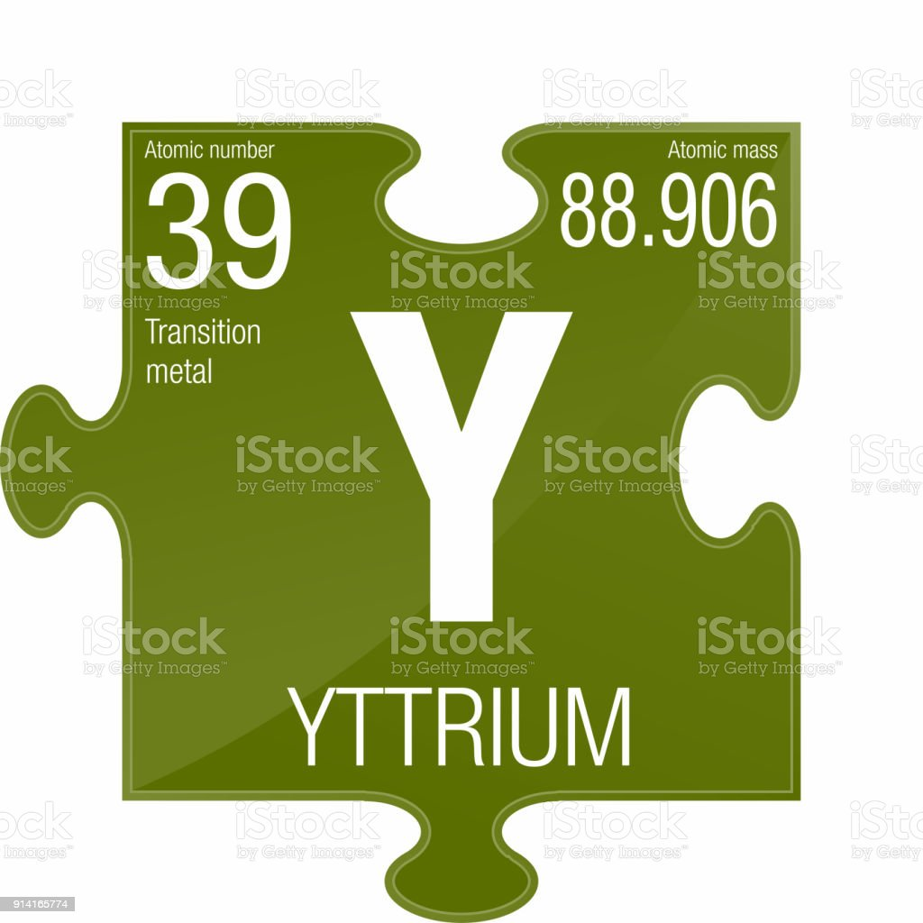 Yttrium symbol element number 39 of the periodic table of the element number 39 of the periodic table of the elements chemistry royalty urtaz Image collections