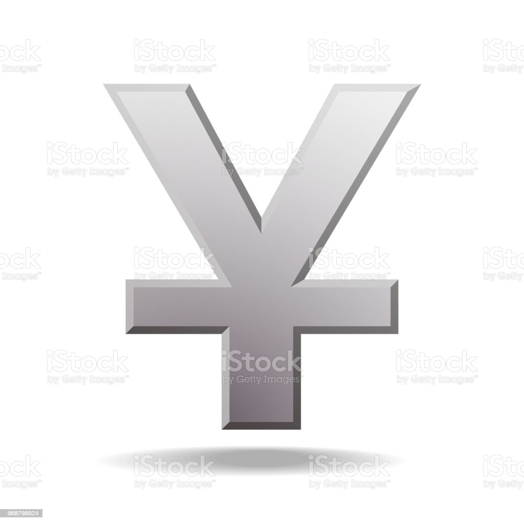 Yuan Currency Symbol Stock Vector Art More Images Of Banking