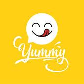 yummy icon design.
