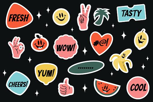 Yummy Sticker Set