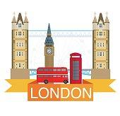 London city scene.