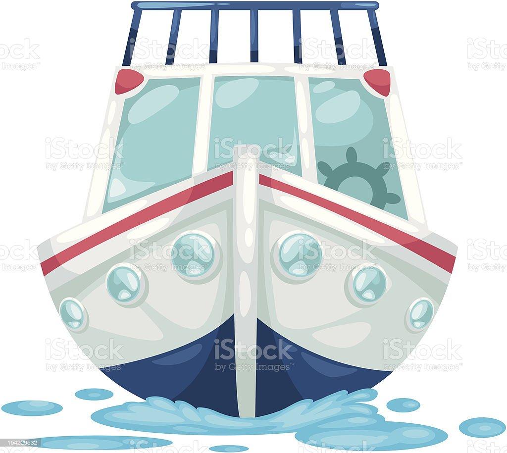 ALPHABET LETTER Y-Yacht royalty-free stock vector art
