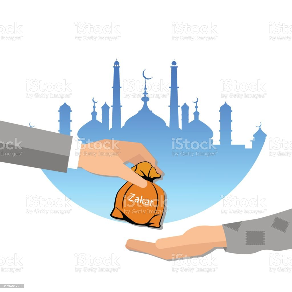 zakat giving money to the poor islam concept religious tax charity royalty-free zakat giving money to the poor islam concept religious tax charity stock vector art & more images of adult