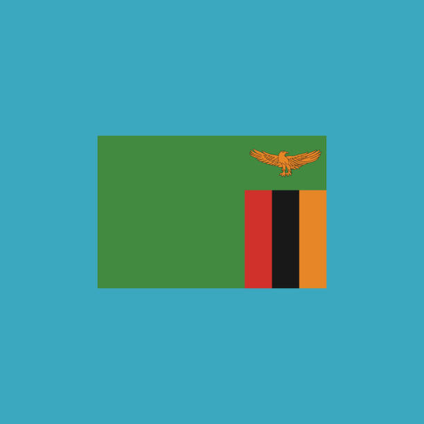 Best Zambian Flag Illustrations, Royalty-Free Vector