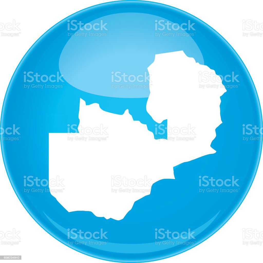 Zambia Sphere Map Stock Vector Art & More Images of Africa 938234940 ...