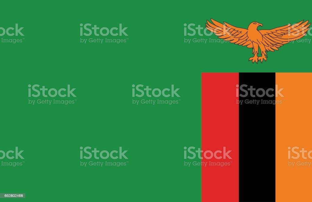 Zambia vector art illustration