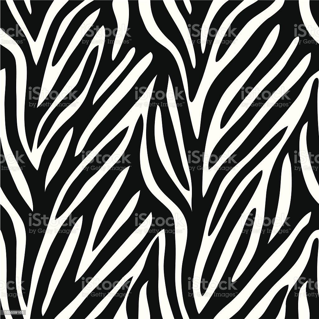 Zebra pattern royalty-free stock vector art