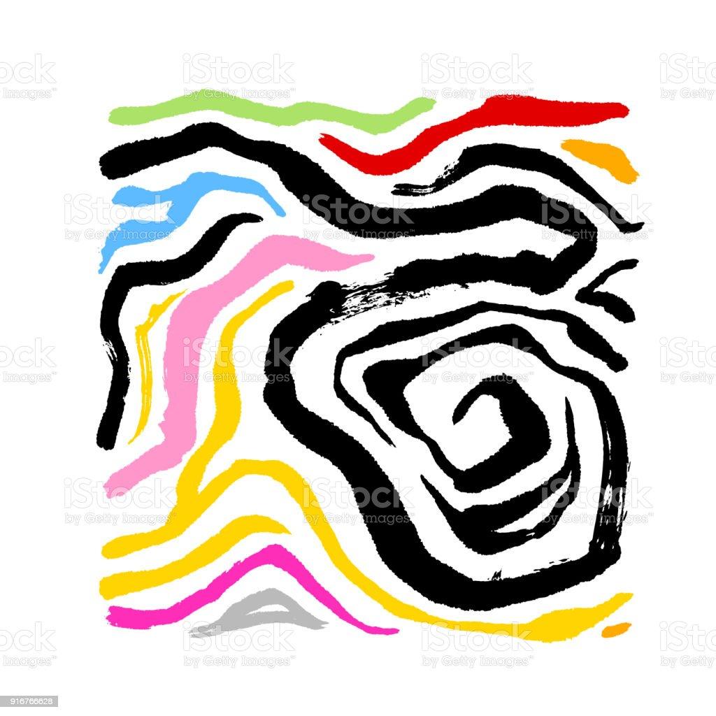 zebra print stock vector art more images of abstract 916766628 rh istockphoto com zebra print vector art free zebra print vector art free