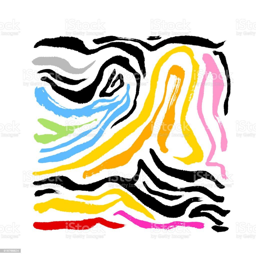 zebra print stock vector art more images of abstract 916766824 rh istockphoto com zebra print seamless vector