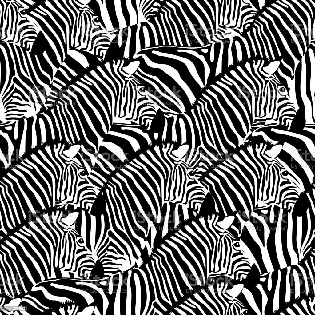 Striped black and white. design trendy fabric texture, vector...