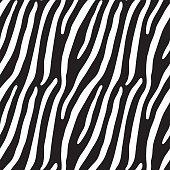 Zebra skin(Seamless background)