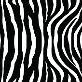 Zebra Stripes black white Seamless Pattern
