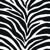 Zebra Stripes Seamless Pattern 2