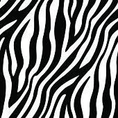 istock Zebra Stripes Seamless Pattern 455188731