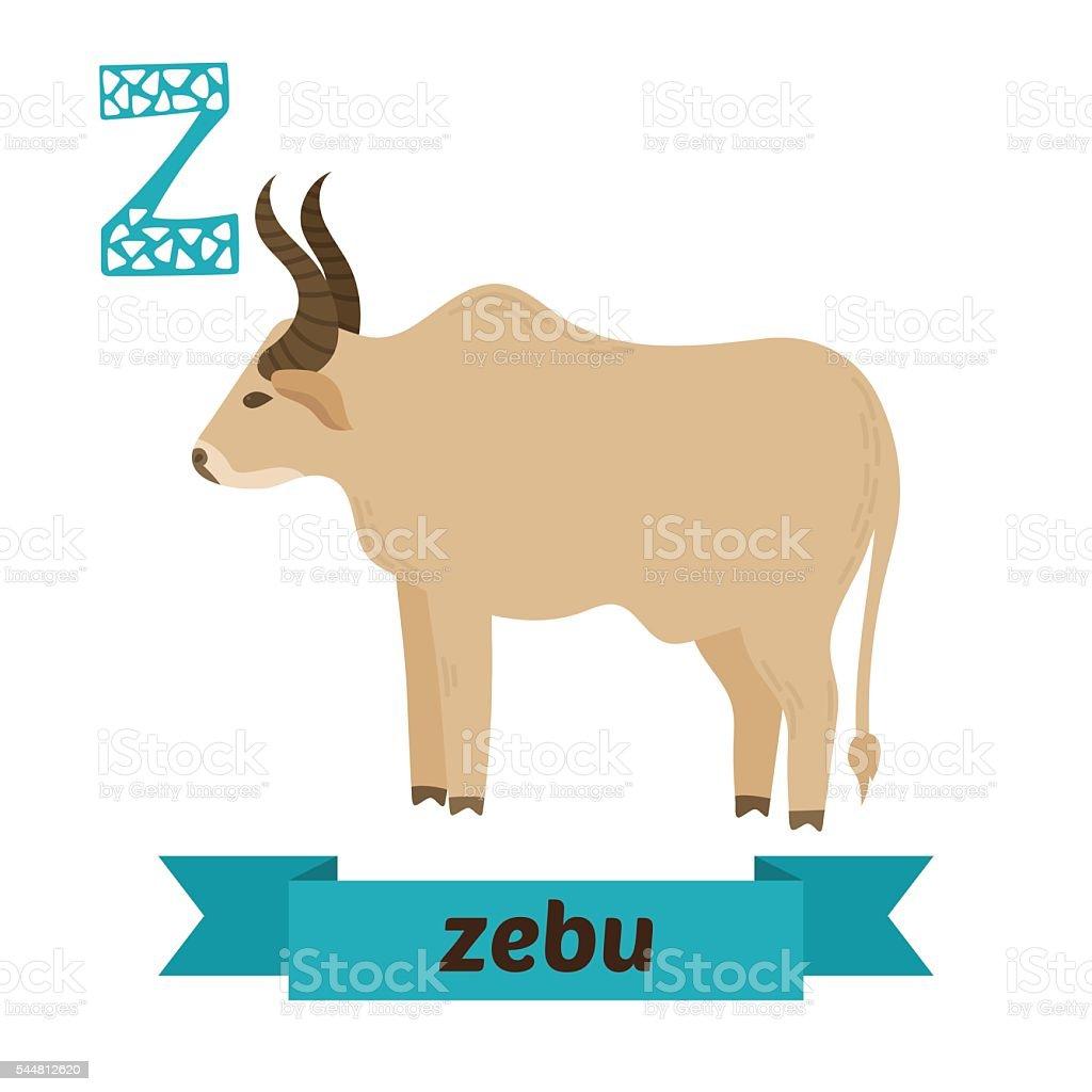 コブますz レターかわいい子供の動物アルファベットをベクトルします