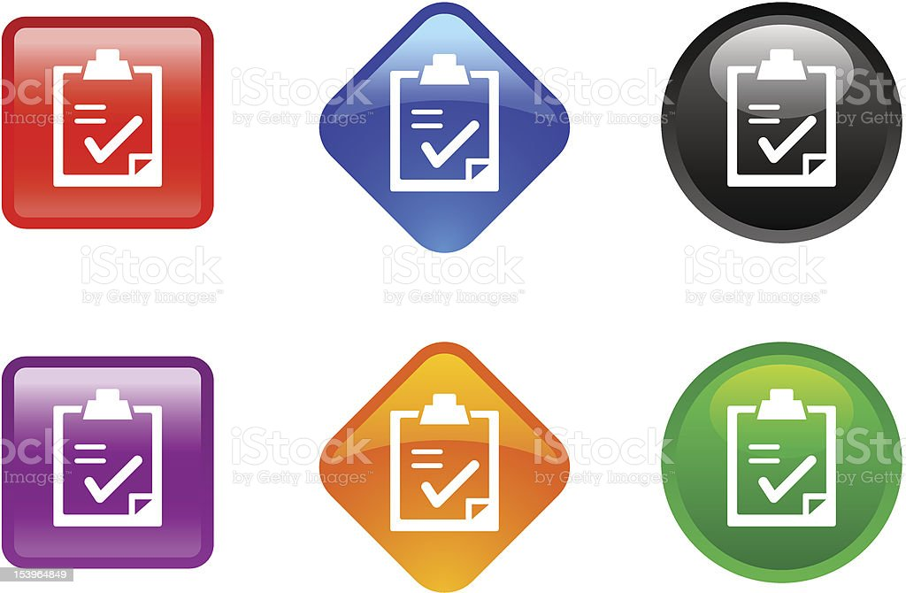 'Zee' Icon Series | Checklist royalty-free zee icon series checklist stock vector art & more images of black color