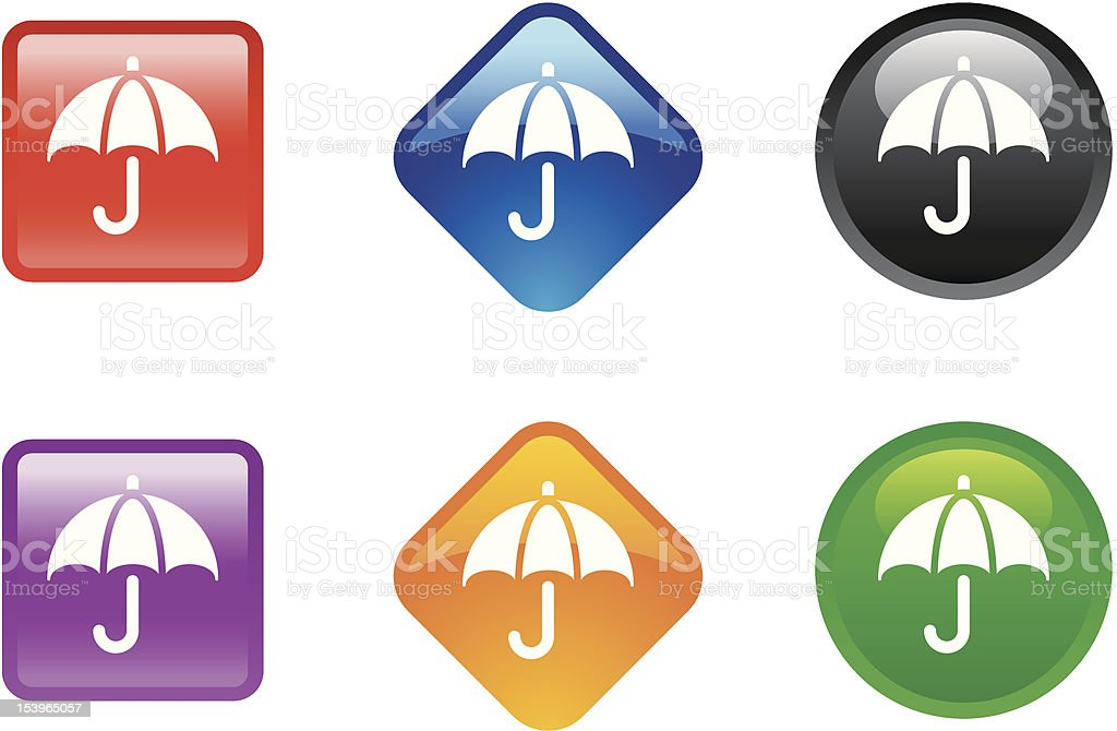 'Zee' Icon Series | Financial Protection royalty-free stock vector art