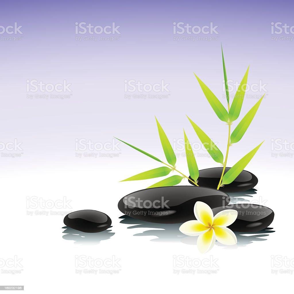 Zen background royalty-free stock vector art