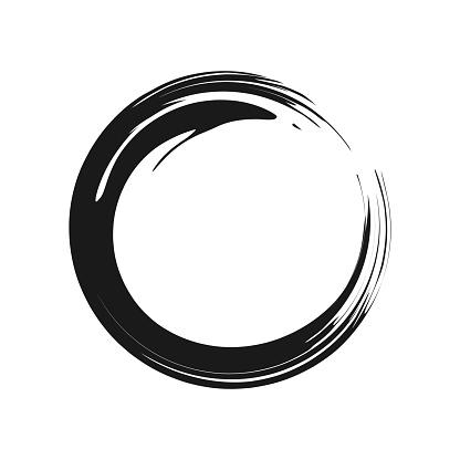 Zen Symbol Vector Graphic