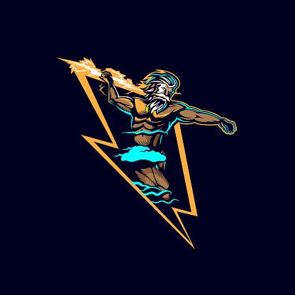 Zeus Lightning Insignia
