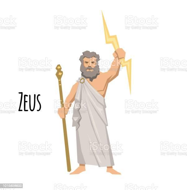 Zeus the father of gods and men ancient greek god of sky mythology vector id1015858600?b=1&k=6&m=1015858600&s=612x612&h=bl1xkraiuha3jf2mmlinyatbsev8x2eyosydn1zk4eu=