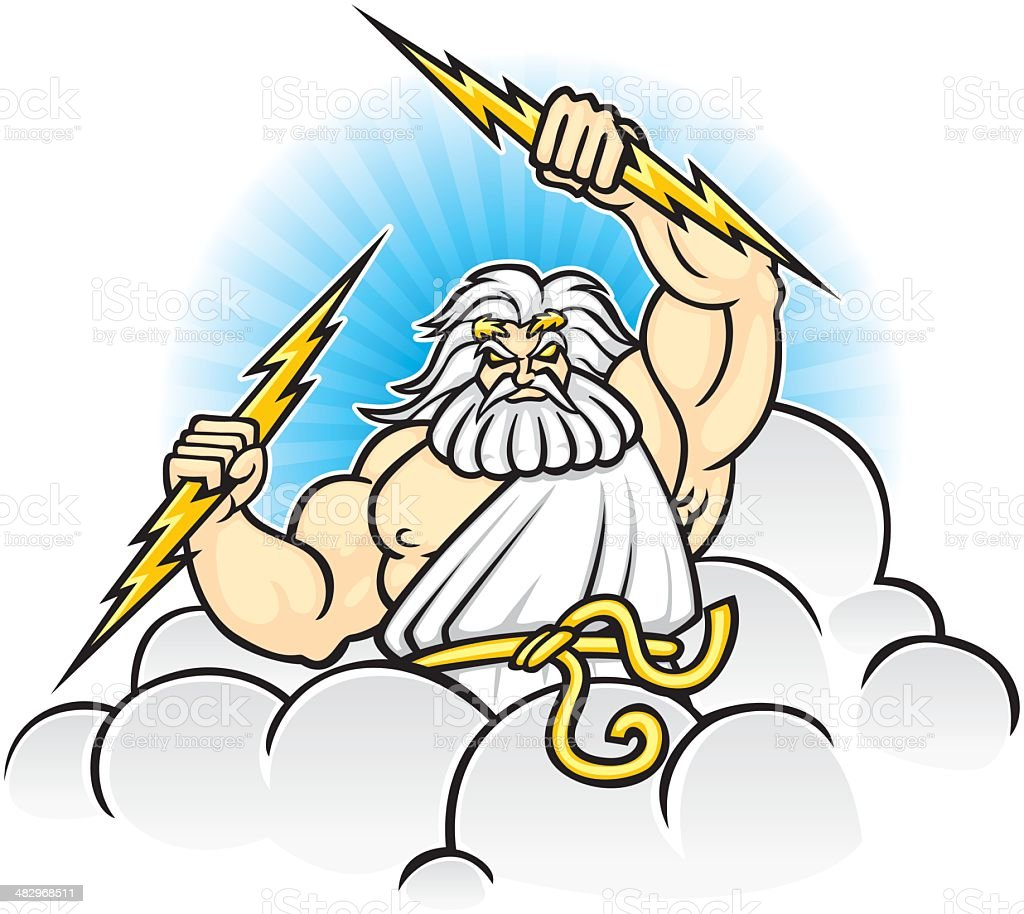royalty free zeus clip art vector images illustrations istock rh istockphoto com statue of zeus clipart zeus clipart images