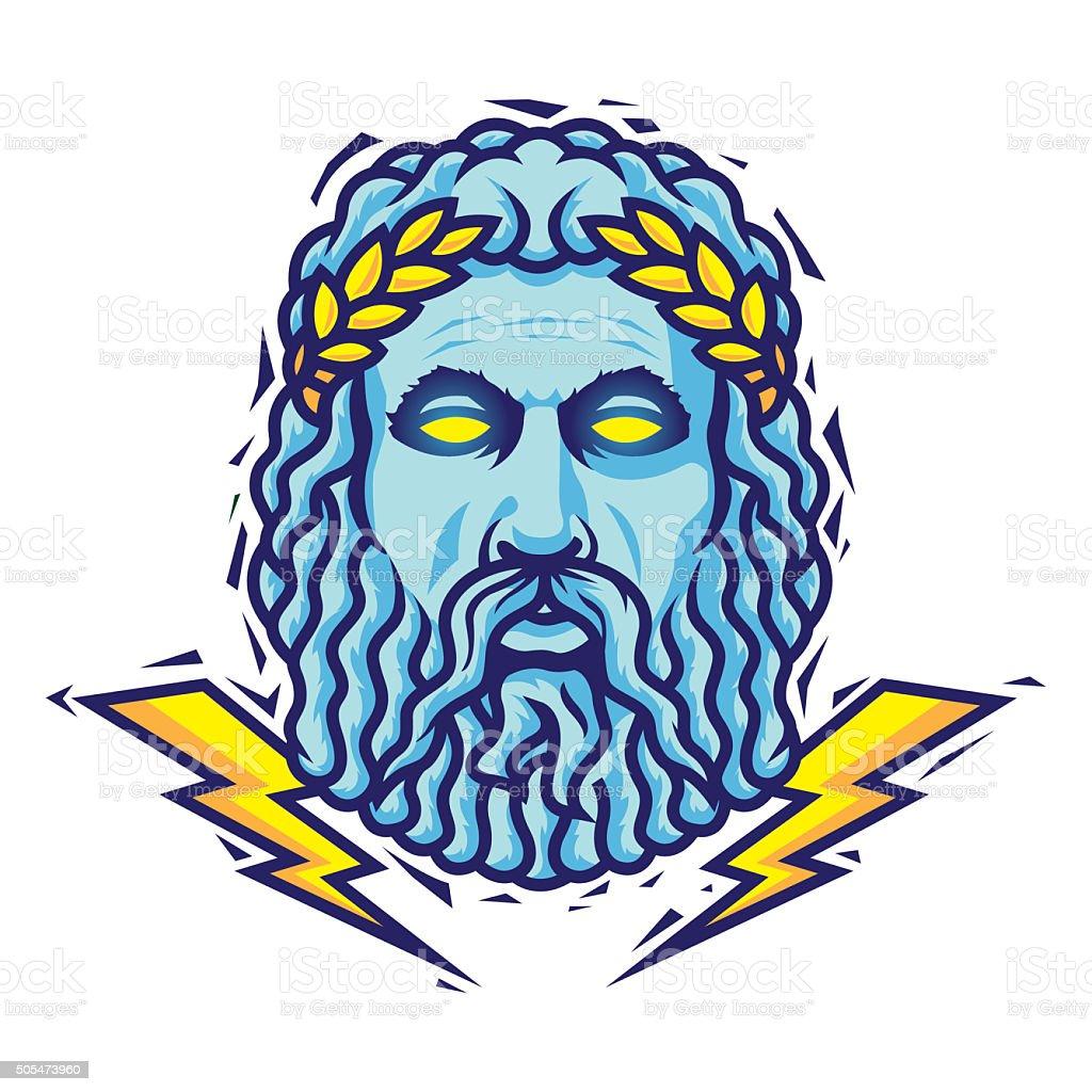Zeus. Vector