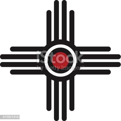 istock Zia Sun - Pueblo, New Mexico 472321315