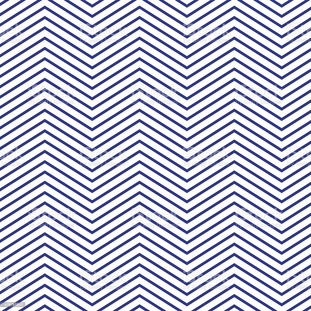 Zig zag pattern. vector art illustration