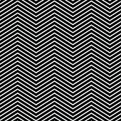 Zig zag pattern.
