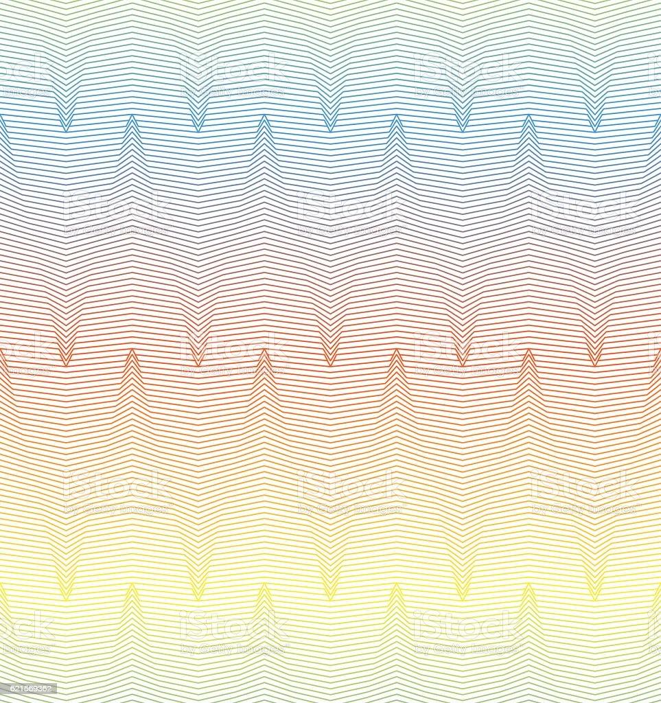 Motif en Zig-zag motif en zigzag – cliparts vectoriels et plus d'images de abstrait libre de droits