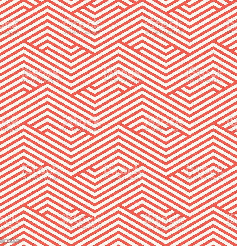 zigzag pattern vector art illustration