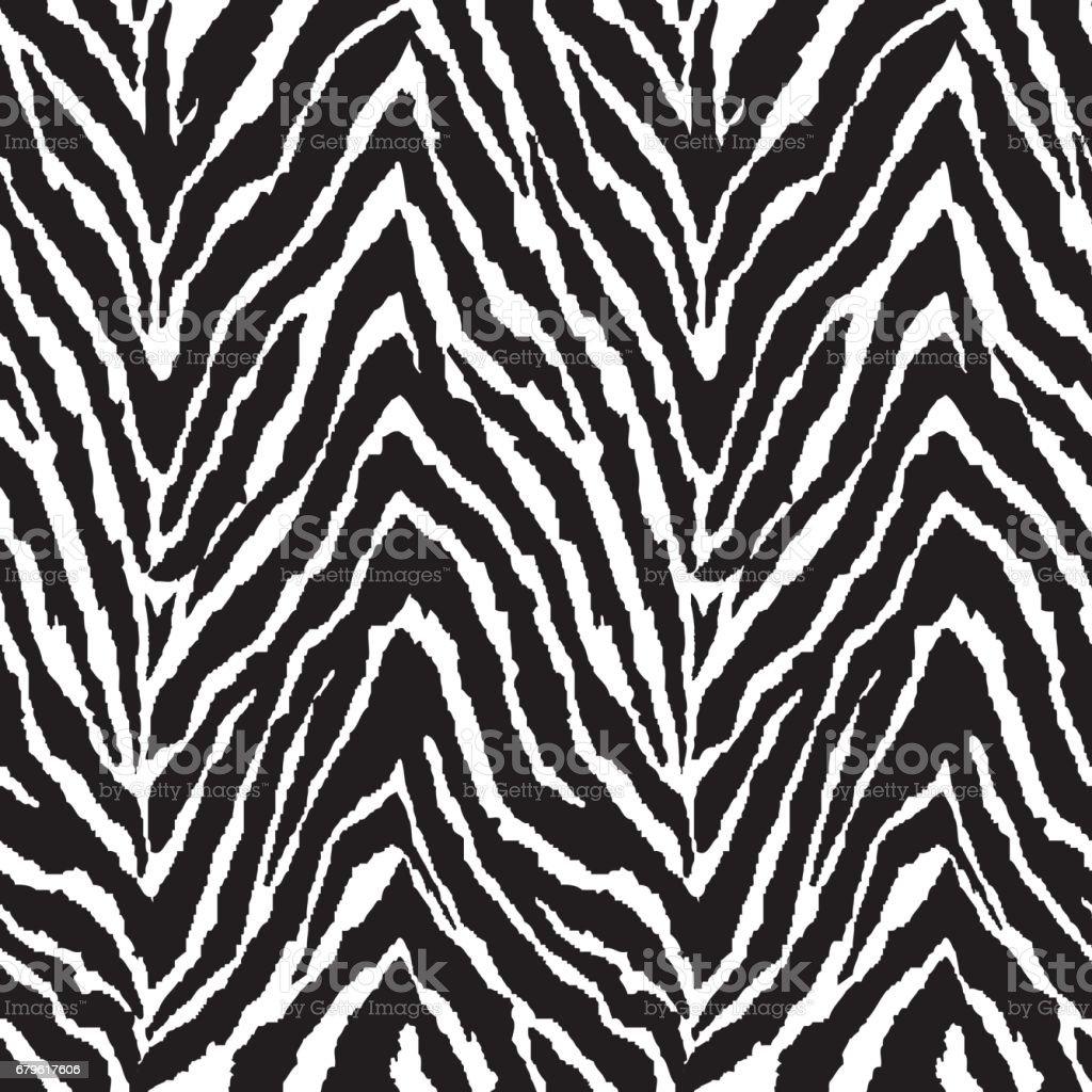 zigzag zebra stripes ~ seamless background ベクターアートイラスト