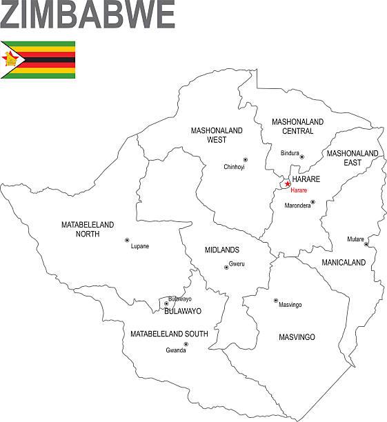 simbabwe - salisbury stock-grafiken, -clipart, -cartoons und -symbole