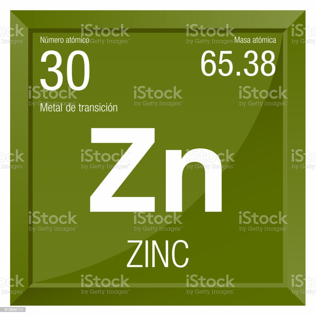 Zinc symbol zinc in spanish language element number 30 of the zinc symbol zinc in spanish language element number 30 of the periodic table of urtaz Gallery