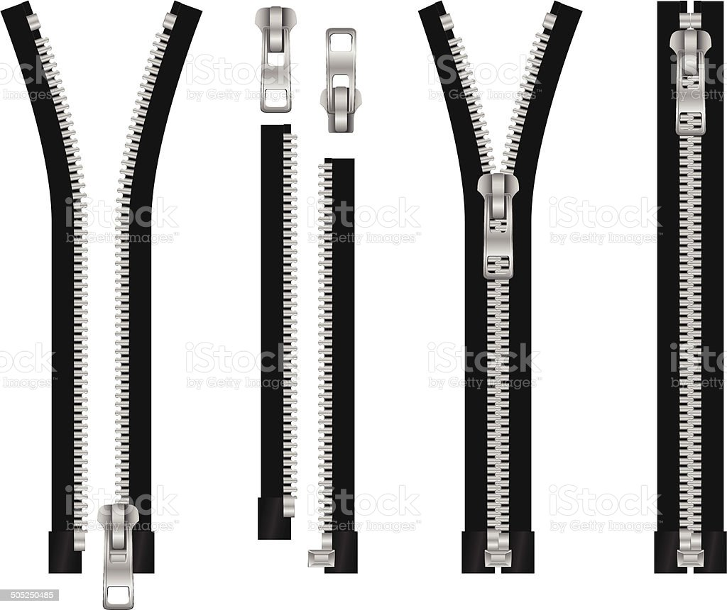 royalty free open zipper clip art vector images