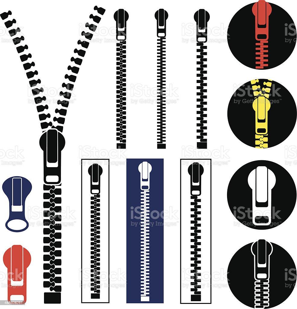Zipper Stock Illustration - Download Image Now - iStock