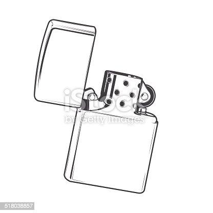 istock Zippo Lighter 518038857