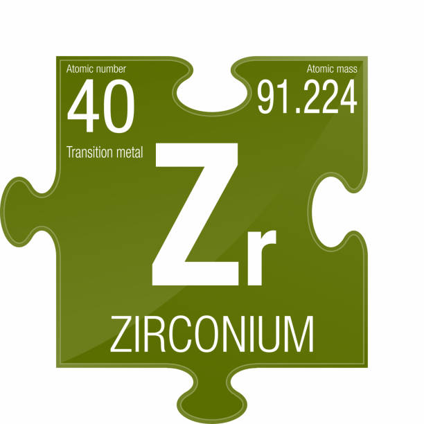 Royalty free zirconium element clip art vector images zirconium symbol element number 40 of the periodic table of the elements chemistry vector urtaz Images