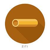 Ziti Pasta Icon